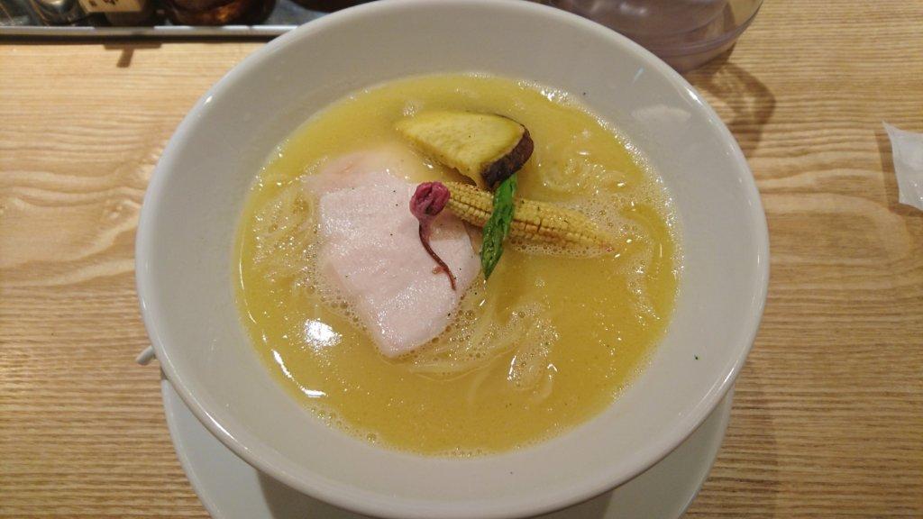 篝 鶏白湯