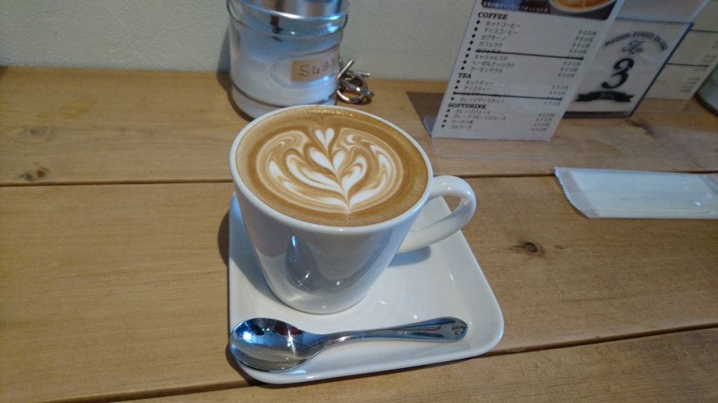ease cafe カフェラテ