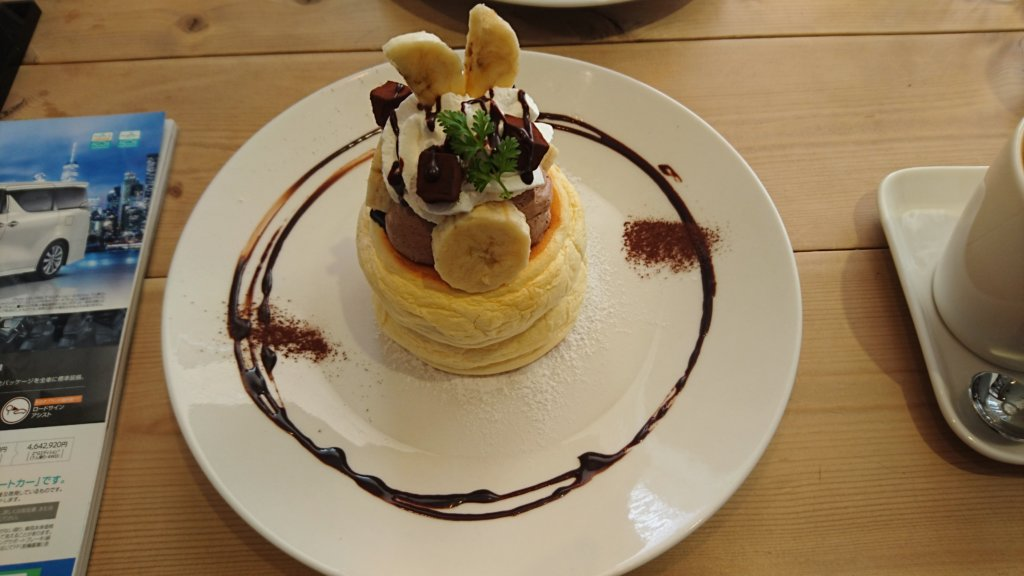 ease cafe パンケーキ