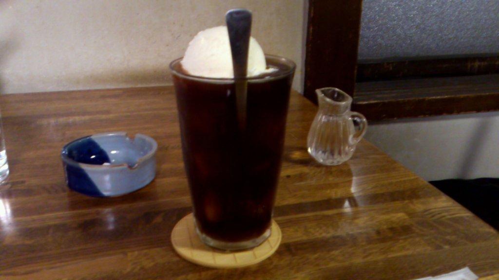 円山茶寮 コーヒーフロート