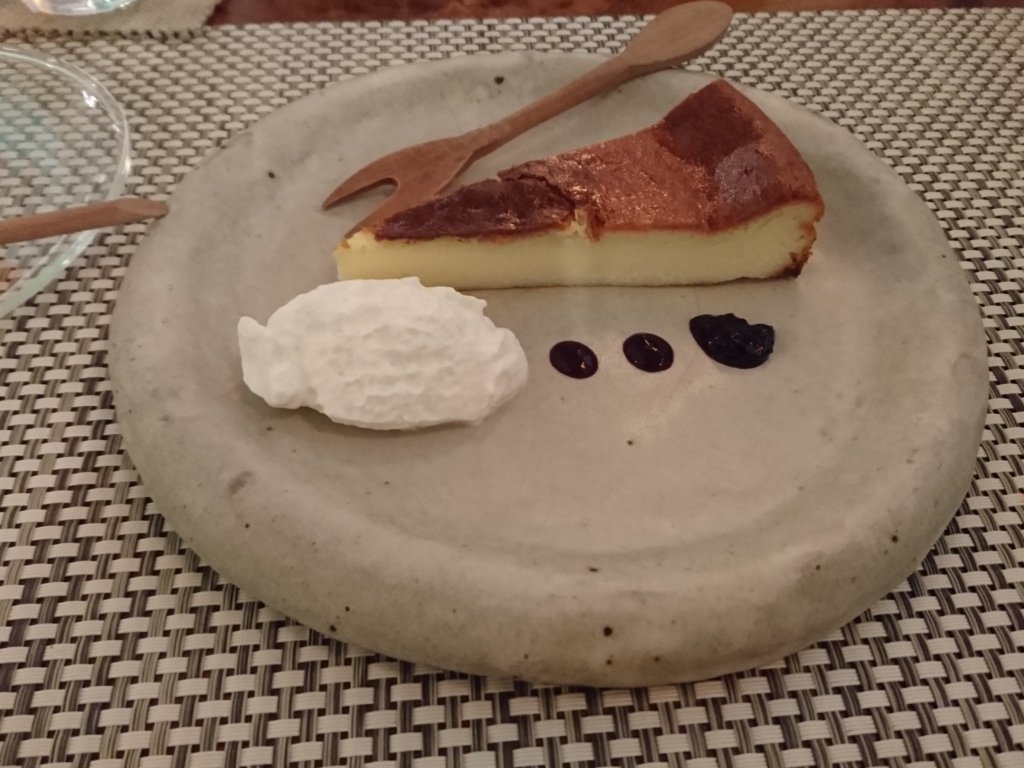 福座 チーズケーキ