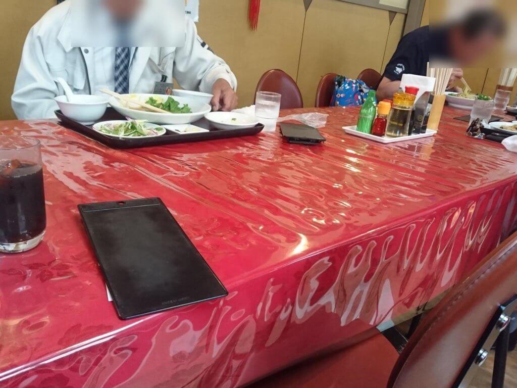 五修堂 テーブル席