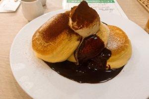 幸せのパンケーキ札幌店 パンケーキ