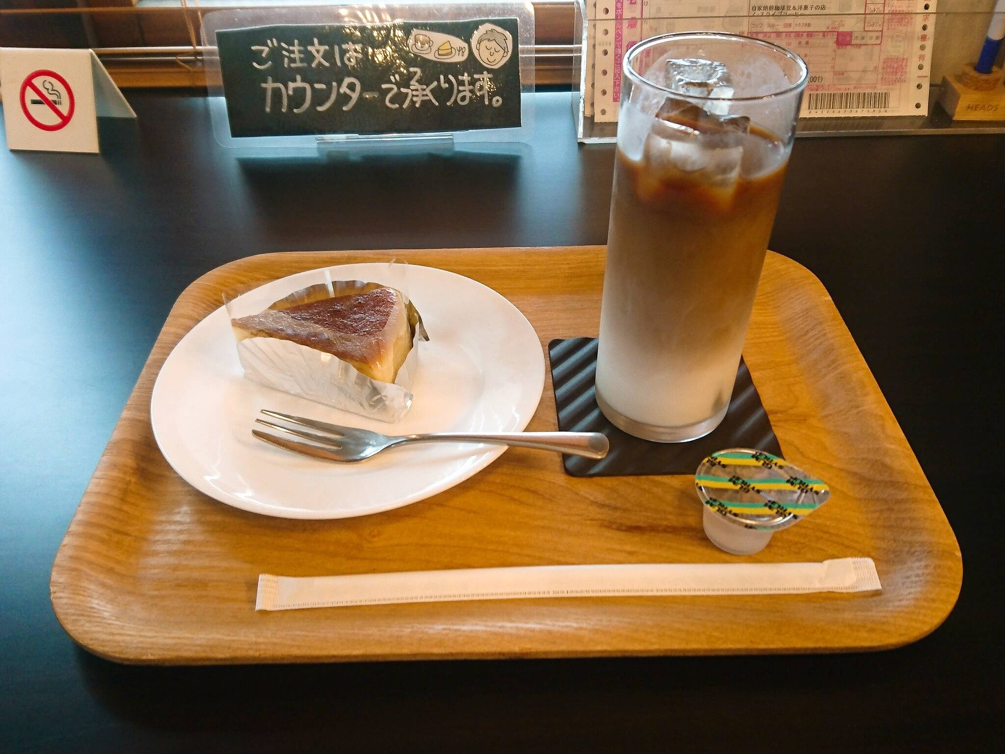 ノースライブコーヒー チーズケーキ