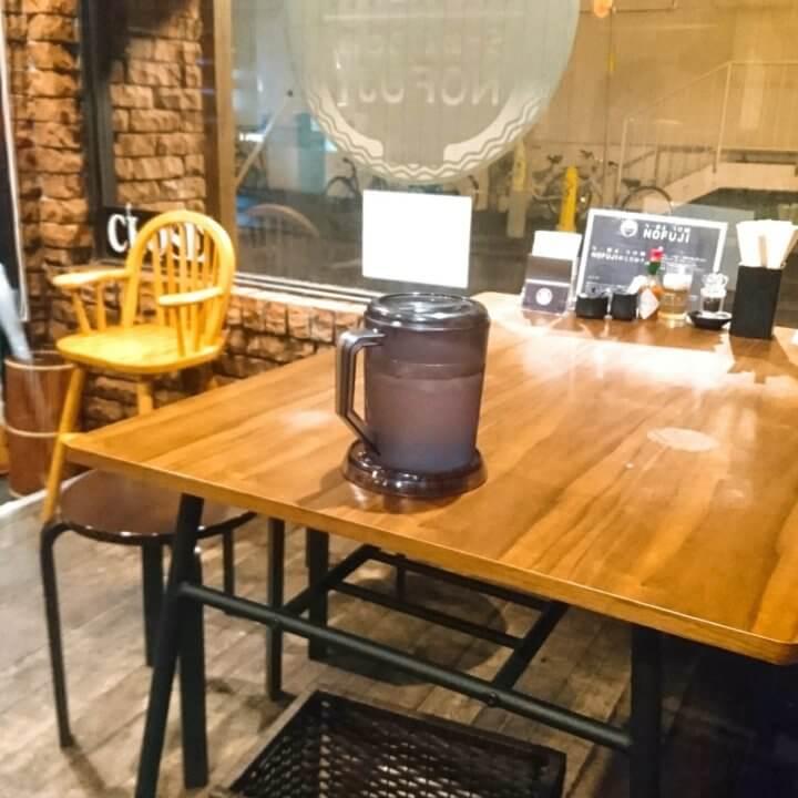 NOFUJI  テーブル席