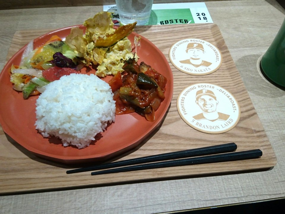 FIGHTERS DINING ROSTER ランチ