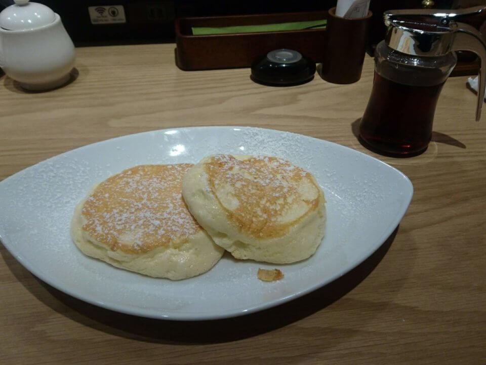 むさしの森珈琲 札幌二十四軒店 ふわっとろパンケーキ