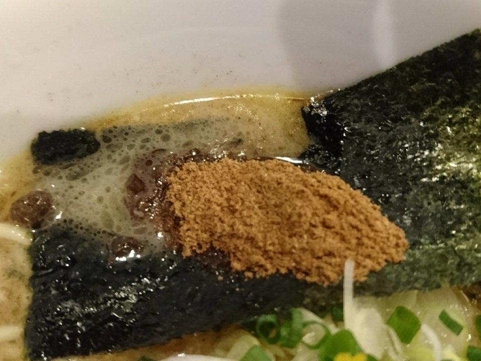 Ramen Stop Bon 魚介豚骨ら~麺 魚粉