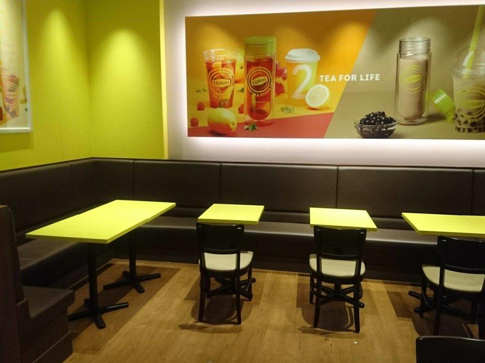 Lipton TEA STAND 店内②