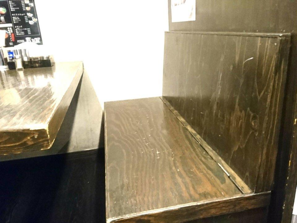 札幌Fuji屋 テーブル席