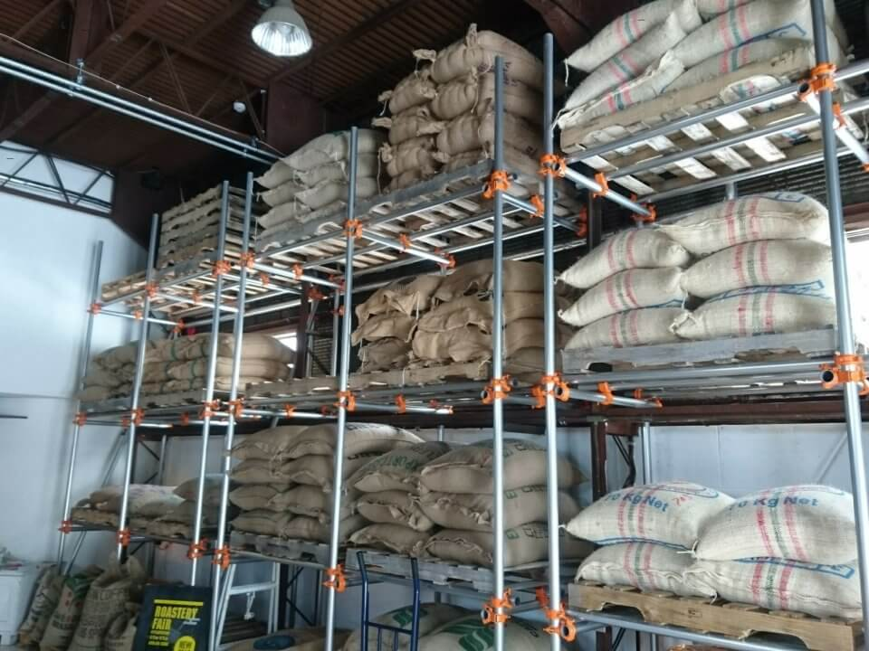 Plantation コーヒー麻袋