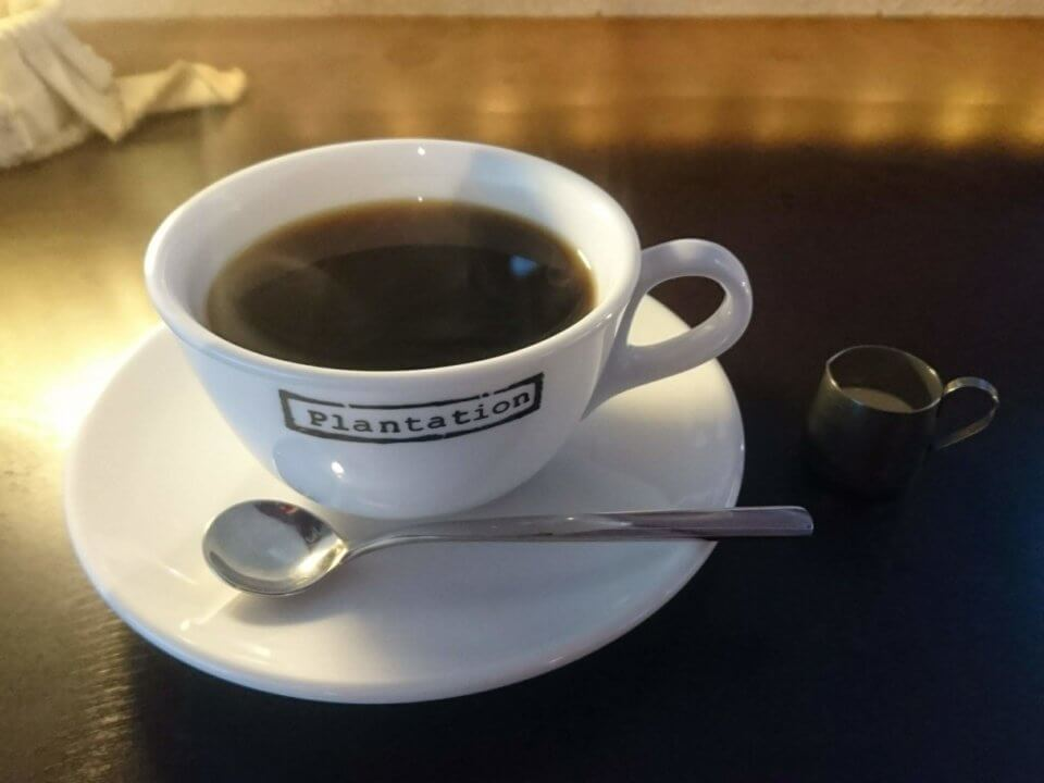 Plantation ランチセット コーヒー