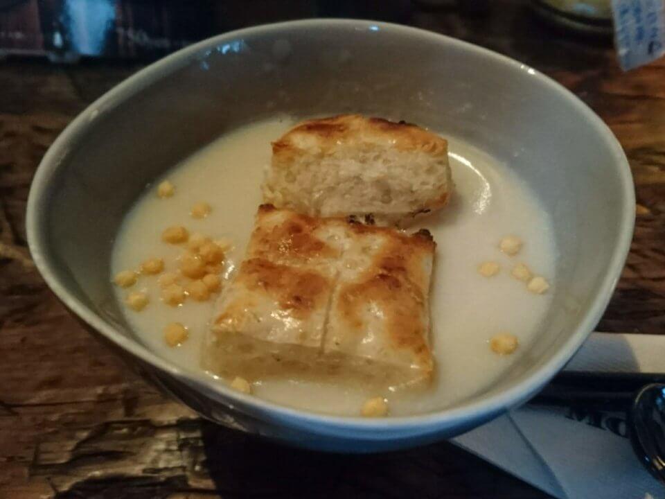 森彦 玄米餅の白いおしるこ