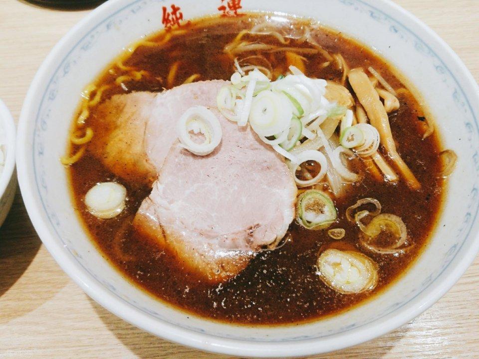 純連 札幌店 正油ラーメン
