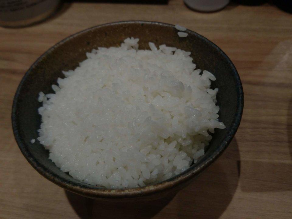 銀家 札幌宮の森店 ご飯
