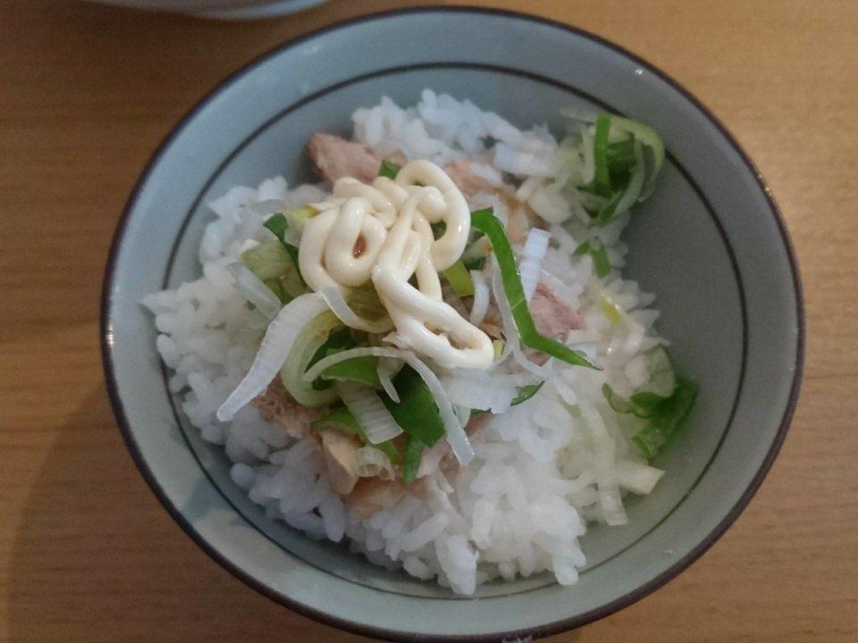 櫻井ラーメン チャーシューごはん