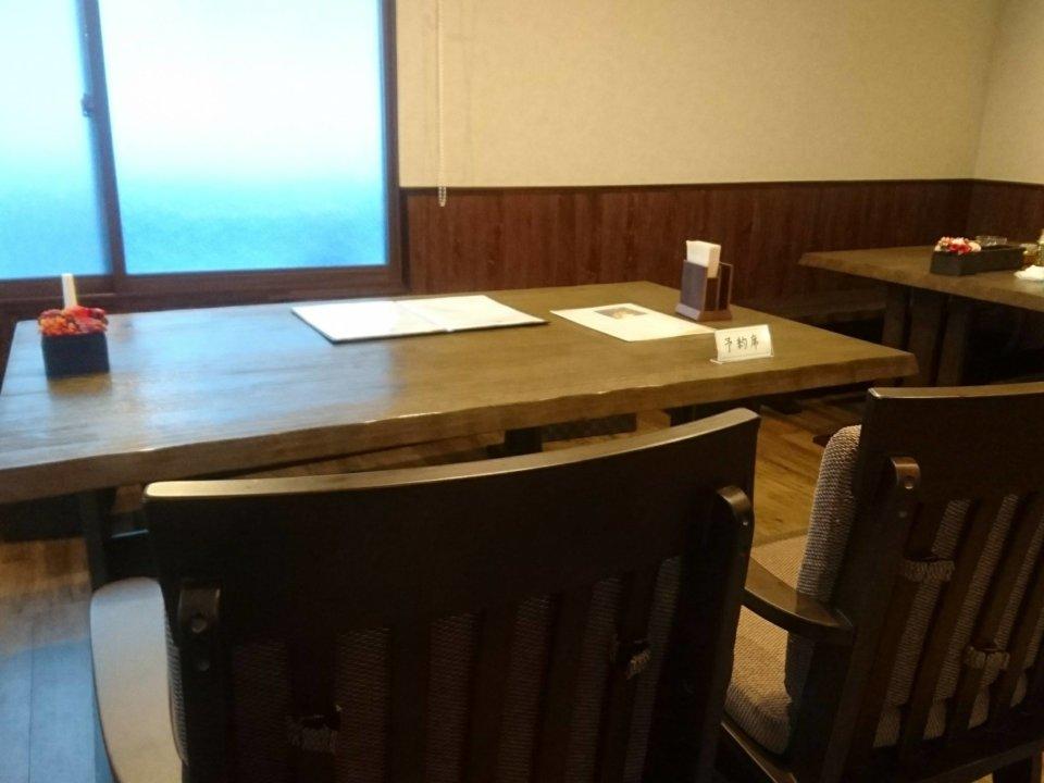 pudding maruyama(プディング マルヤマ) テーブル席
