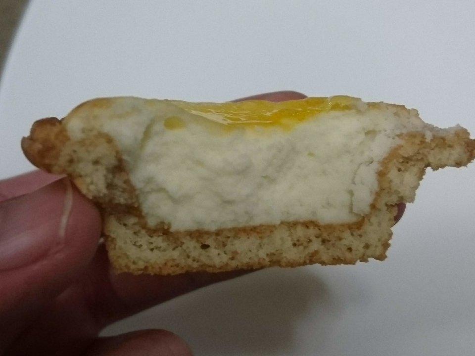 PABLO mini(パブロミニ)イオンモール発寒店 チーズタルト 断面
