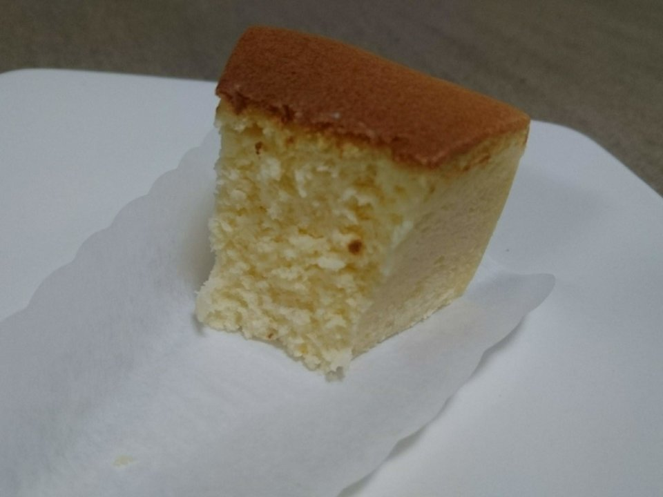 マザーズ 札幌宮の森店 チーズケーキ 断面