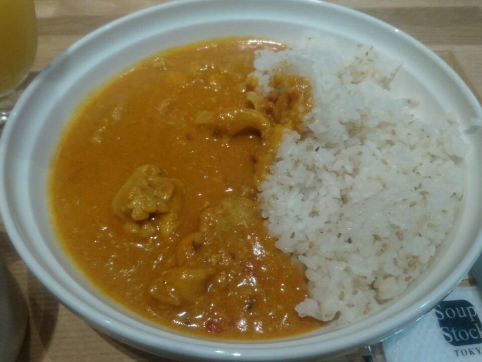 Soup Stock Tokyo(スープストックトーキョー) 円山店 カレーとスープのセット カレー