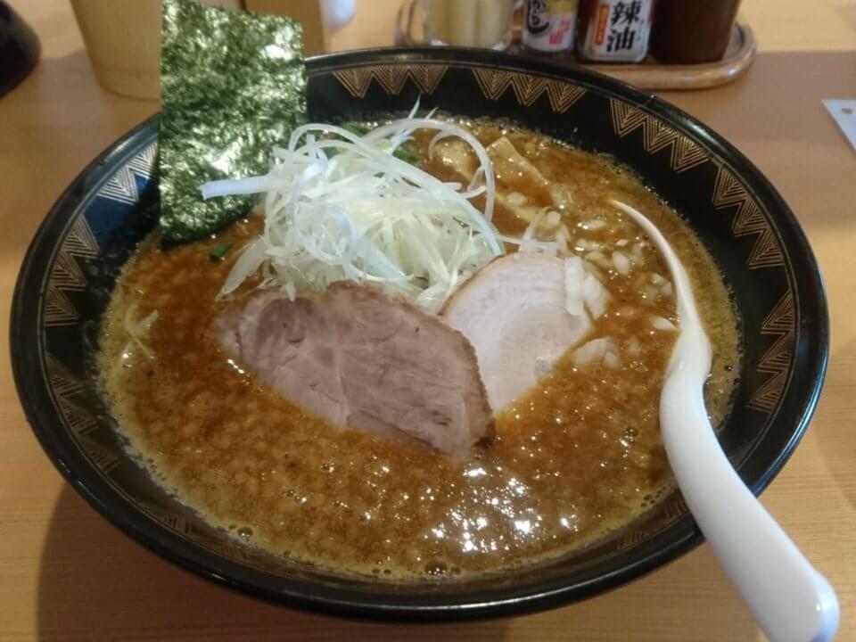 札幌真麺処 幸村 濃厚しょうゆ