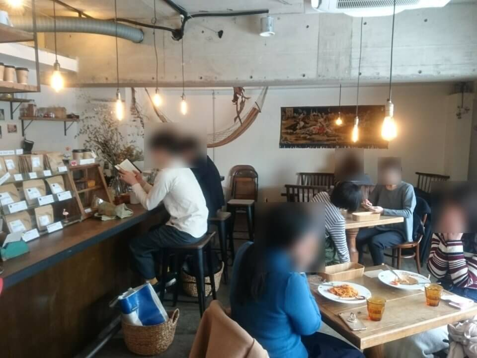 Cafe Tocoche(カフェ トコシエ)店内