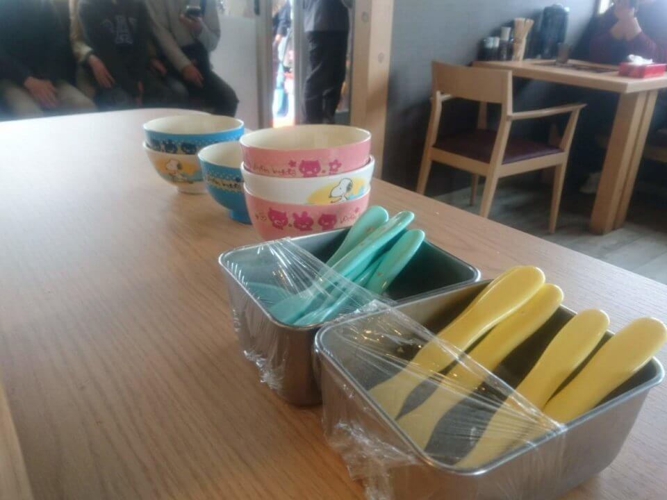 麺屋 雪風 清田店 子供用食器