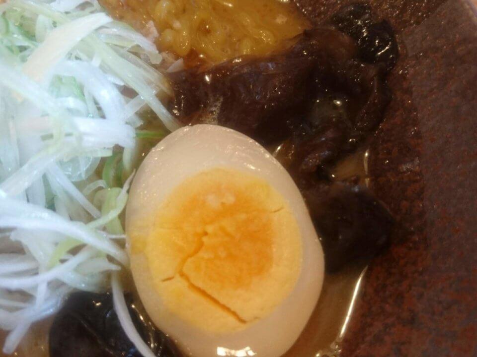 麺屋 雪風 清田店 濃厚味噌らーめん 半熟玉子