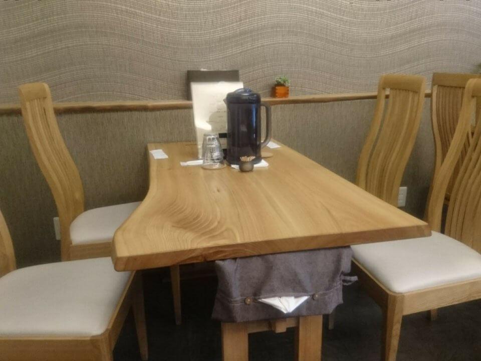 トマト麺 Vegie WEST(ベジーウエスト) テーブル席