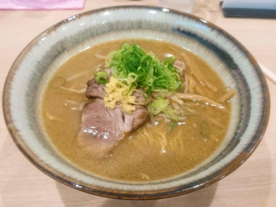 札幌 麺屋美椿(MITSUBA みつば)味噌ラーメン