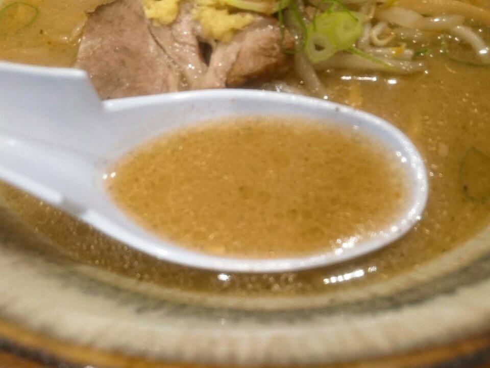 札幌 麺屋美椿(MITSUBA みつば)味噌ラーメン スープ