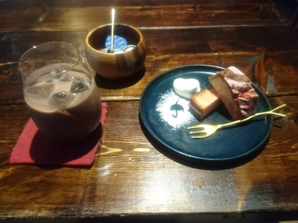 CafeRain(カフェ レイン)パウンドケーキ ドリンクセット