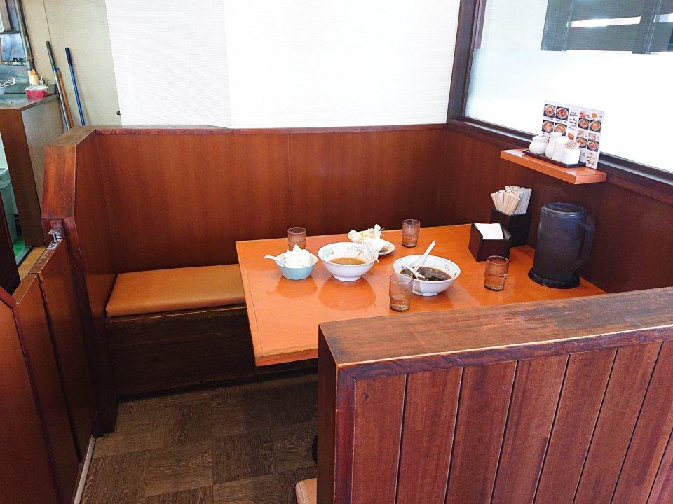 純連 北31条店 テーブル席