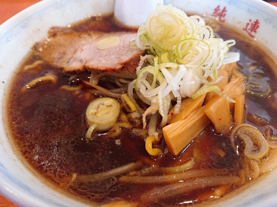 純連 北31条店 正油ラーメン スープ