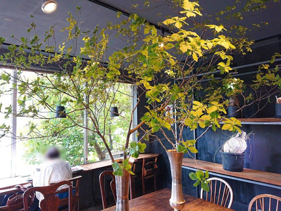 PLANT SATO COFFEE 店内