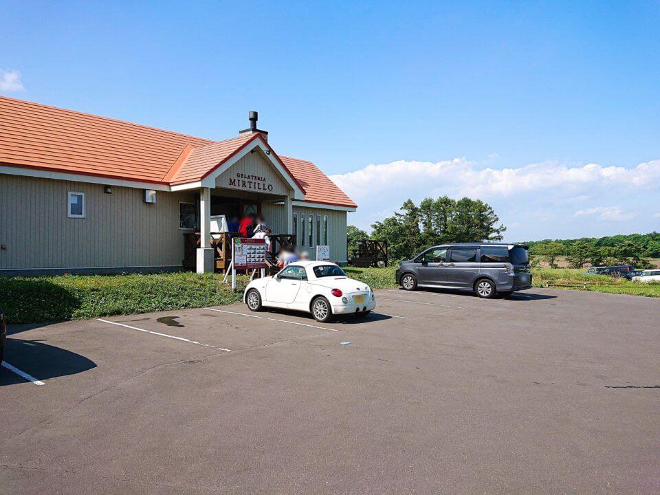 GERATERIA MIRTILLO(ミルティーロ)駐車場